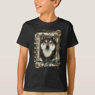 Vatertag - Steintatzen - Shiba Inus - Yasha T-Shirt