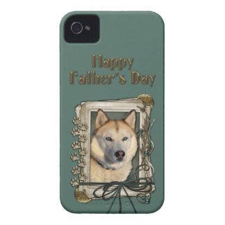 Vatertag - Steintatzen - sibirischer Husky - Kupfe Case-Mate iPhone 4 Hülle