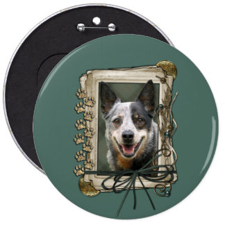 Vatertag - Steintatzen - Vieh-Hund Anstecknadelbutton