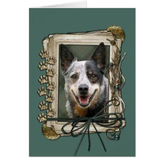 Vatertag - Steintatzen - Vieh-Hund Grußkarte