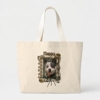 Vatertag - Steintatzen - Vieh-Hund Jumbo Stoffbeutel
