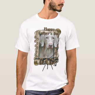 Vatertag - Steintatzen - Weimeraner - Vati T-Shirt