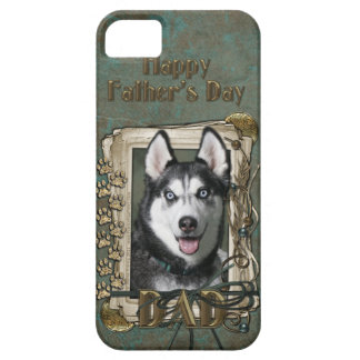 Vatertag VATI - Steintatzen - sibirischer Husky iPhone 5 Etuis