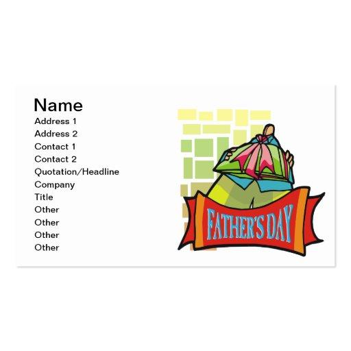 Vatertag Visitenkarte