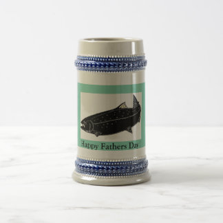 Vatertags-Fischen-Tasse Bierkrug