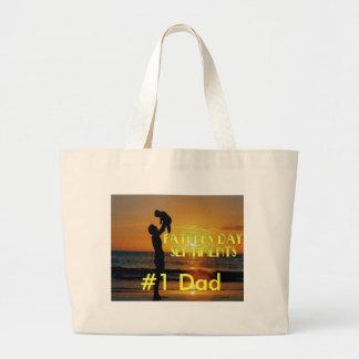Vatertags-Gefühle Einkaufstasche