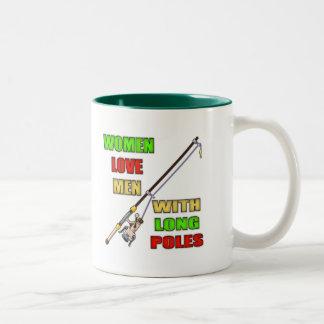 Vatertags-Geschenk-Idee Zweifarbige Tasse