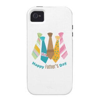Vatertags-Krawatten Vibe iPhone 4 Hüllen