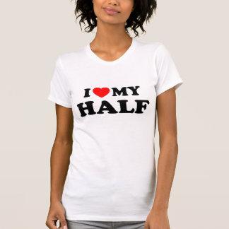 Vatertags-Liebe meine Hälfte T Shirt