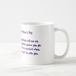 Vatertags-Poesie-Tasse Tasse