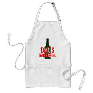 Vatertagsgeschenk &Grill das Bar des Vatis Schürze