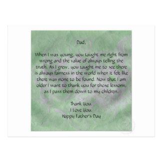 Vatertagsgeschenke Postkarten