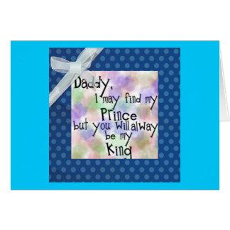 Vatertagsgrüße Grußkarte