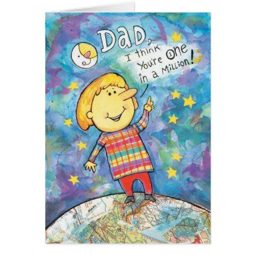 Vatertagskarte Grußkarte