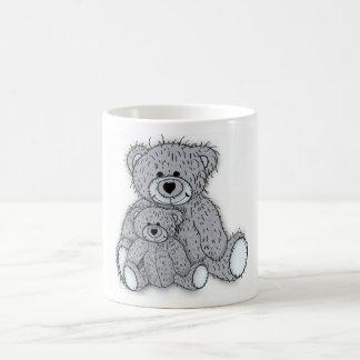 Vatertagskarte zusammenpassendes der Teddybärn-Tas Tee Haferl