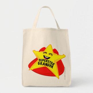 Vatertagstasche des Superstargroßvaters Einkaufstasche
