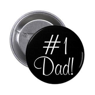 Vati #1! runder button 5,1 cm