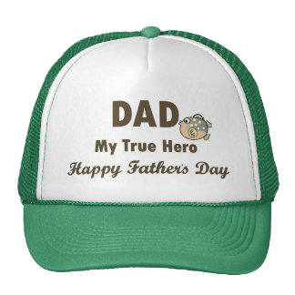 Vati der mein Vatertag wahrer Held-glückliche Kult Mützen