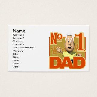 Vati der Nr.-eine Visitenkarten