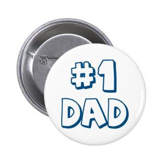 Vati-des Vati-#1 der Zahl-eine der Vatertags-Gesch Runder Button 5,1 Cm