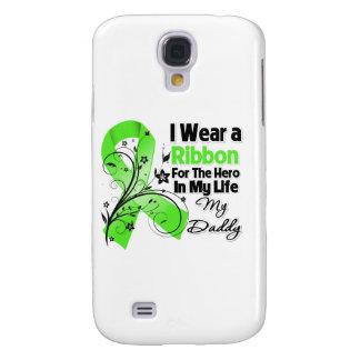 Vati-Held in meinem Leben-Lymphom-Band Galaxy S4 Hülle