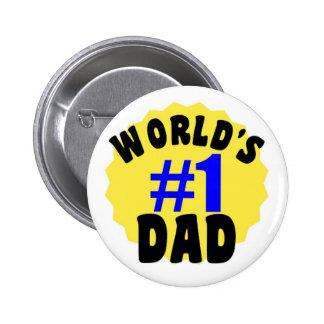 Vati-Knöpfe der Welt 1 Anstecknadelbuttons