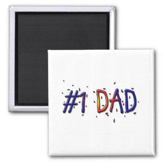 Vati-Magnet des Vatertags-#1 Quadratischer Magnet