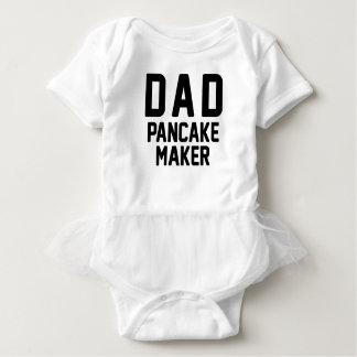 Vati-Pfannkuchen-Hersteller Baby Strampler
