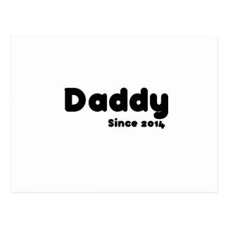 Vati seit 2014. Vatertagsgeschenk Postkarten
