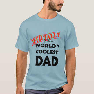 Vati-Shirt-Geschenkidee der Welt coolste für Vater T-Shirt
