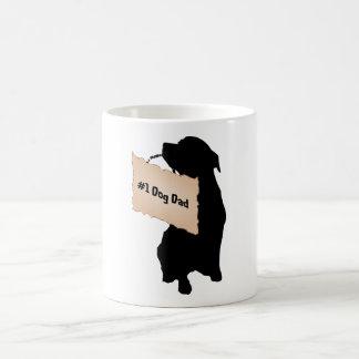 Vati-Tasse des Hund#1 Kaffeetasse