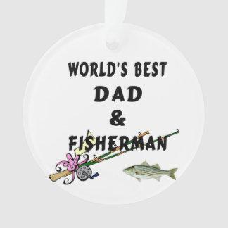 Vati und Fischen Ornament