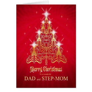 Vati und Stiefmutter, Weihnachtsbaum Karte