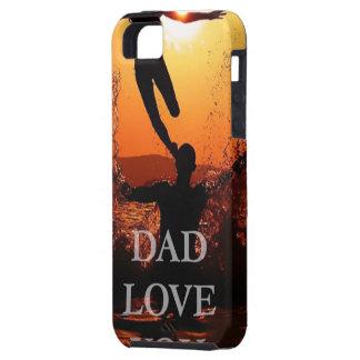 Vati, Vatertags-Geschenk, Liebe Sie Vati Tough iPhone 5 Hülle