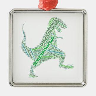 Vati-Verzierung Silbernes Ornament