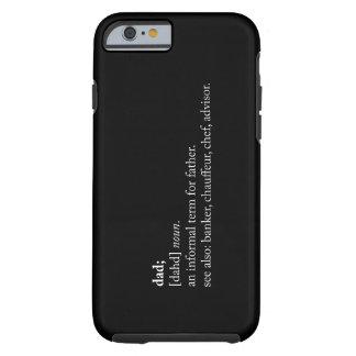 Vati - Wörterbuch-Definition Tough iPhone 6 Hülle