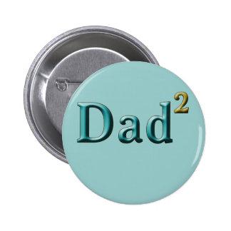 Vati zu den zweiten der Vatertags-Geschenken Anstecknadelbutton