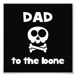 Vati zum Knochen Photo Drucke