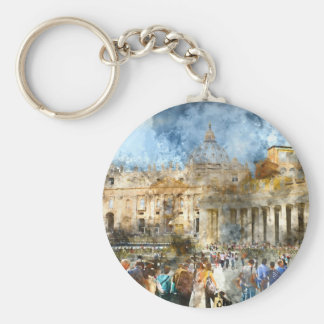 Vatikan in Rom Italien Schlüsselanhänger
