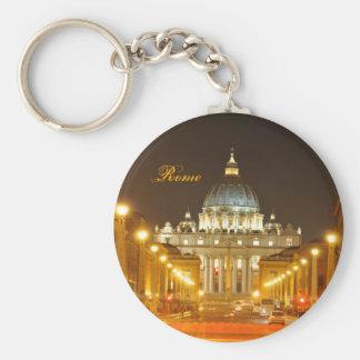 Vatikanstadt, Rom, Italien nachts Schlüsselanhänger