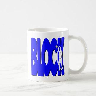 VB-BLOCK, blau Kaffeetasse