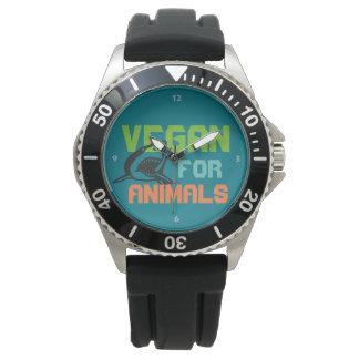 Vegan for Animals - Shark Armbanduhr