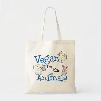 Vegan für die Tiere Budget Stoffbeutel