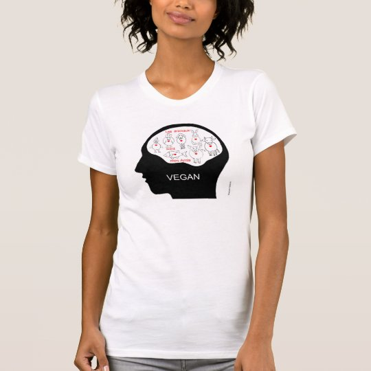 vegan head animals T-Shirt