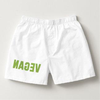 VEGAN (Spiegel-Bild) Herren-Boxershorts