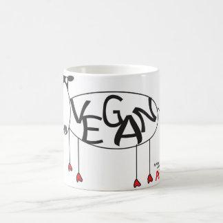 Vegane Kuh-Tasse Tasse
