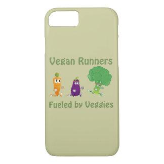 Vegane Läufer - getankt durch Veggies iPhone 8/7 Hülle