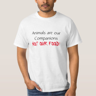 Vegane Shirt-Tiere sind unser Begleiter-T-Stück T-Shirt