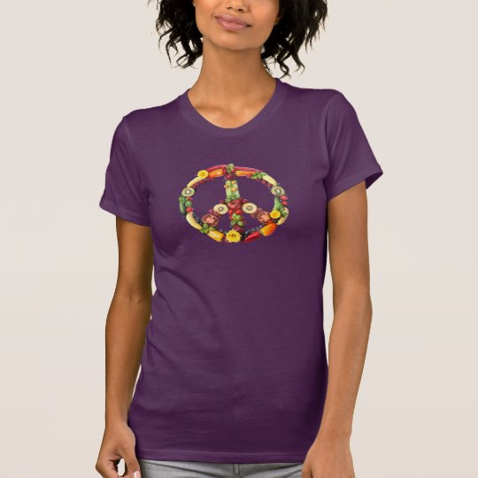 Veganer Frieden T-Shirt