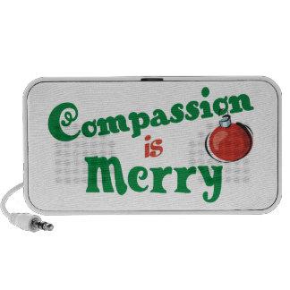 Veganer Mitleid-Feiertags-Lautsprecher Laptop Lautsprecher